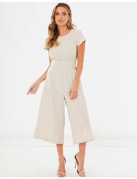 Kaisley Tie Up Jumpsuit by Calli