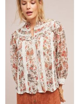 Elena Floral Blouse by Feather Bone