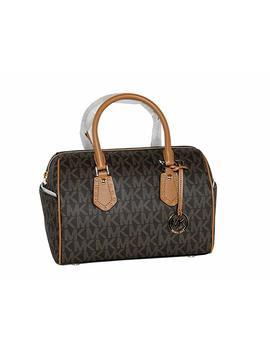 Michael Michael Kors Women's Aria Medium Leather Satchel Studded Handbag by Michael Michael Kors