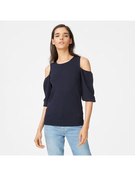 Gracella Cold Shoulder Sweater by Club Monaco
