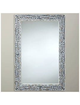 John Lewis & Partners Mother Of Pearl Mirror, 60 X 90cm, Natural by John Lewis & Partners