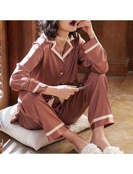 Sherrie   Pajama Set: Printed Shirt + Pants by Sherrie