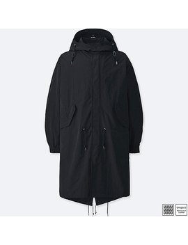 Men Uniqlo U Pocketable Fishtail Parka by Uniqlo