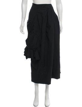Wool Midi Skirt by Comme Des Garçons