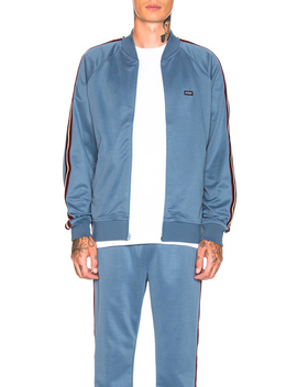 Poly Track Jacket by Stussy