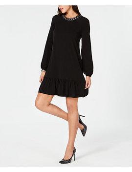 Studded Flounce Dress by Michael Michael Kors