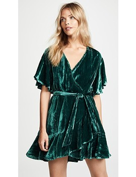 Night Fever Wrap Dress by Bb Dakota