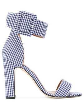 Paris Texas Vichy Sandals by Paris Texas