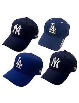 National League Champion Team La Dodgers Ny Yankees Official Mlb Baseball Cap by Ebay Seller