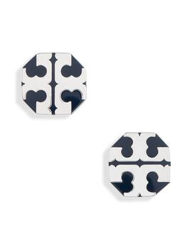 T Stretch Stud Earrings by Tory Burch