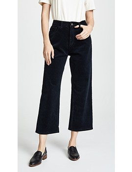 Hepburn High Rise Corduroy Wide Leg Pants by Dl1961
