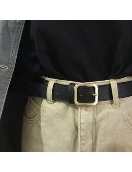 Cimao   Faux Leather Belt by Cimao