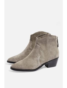 **Wide Fit Betty Western Boots by Topshop