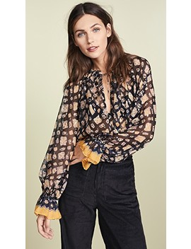 Nailah Blouse by Ulla Johnson