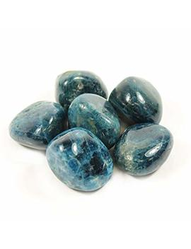 Blue Apatite Extra Grade Tumble Stone (20 25mm)   Single Stone by Crystal Age