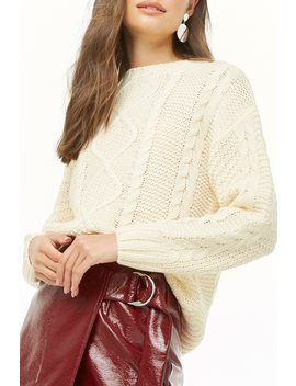 Fisherman Knit Sweater by Forever 21