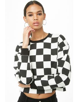 French Terry Raw Cut Pullover by Forever 21