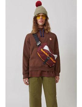 Hooded Sweatshirt Chocolate Brown by Acne Studios