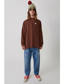 Oversized Jeans Mid Blue by Acne Studios