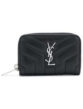 Lou Lou Zipped Wallet by Saint Laurent