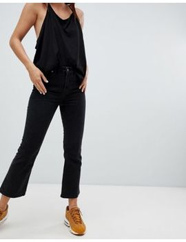 Weekday Kick High Waist Cropped Jean by Weekday