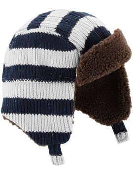 Striped Trapper Hat by Oshkosh