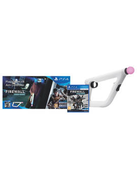 Sony Play Station Vr Aim Controller And Firewall Zero Hour Vr Game For Ps4 by Sony