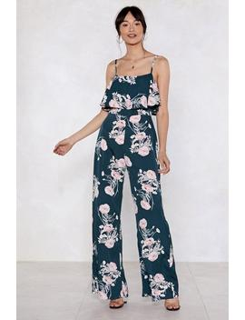 Fresh Pick Floral Jumpsuit by Nasty Gal