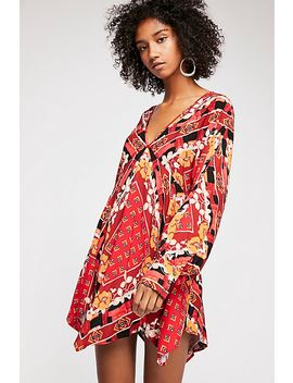 Ride To The Sunset Printed Tunic by Free People