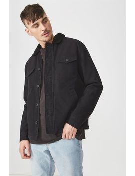 Sherpa Trucker Jacket by Cotton On