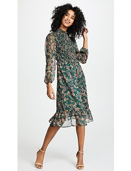 Floral Midi Dress by Moon River