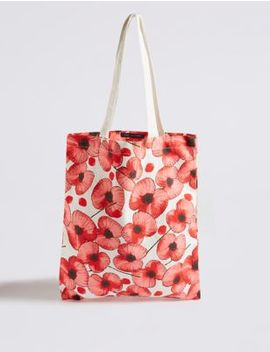 The Poppy Collection® Foldable Bag by Marks & Spencer