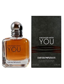 Armani Stronger With You Eau De Toilette Uomo, 50 Ml by Armani Collezioni