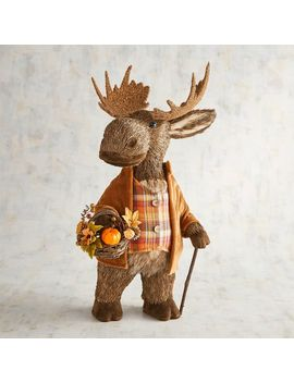 Buckley The Natural Strolling Moose by Grateful Harvest Collection