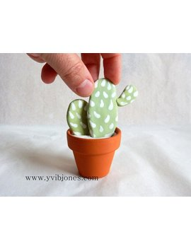 Desktop Diffuser Clay Cactus Unique Home Decor Kiln Fired Aromatherapy Essential Oil Diffuser Desk Decoration For Him Or Her Unusual Gifts by Kiln Fired Diffusers