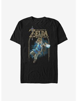 Nintendo Legend Of Zelda Breath Of The Wild Arch T Shirt by Hot Topic