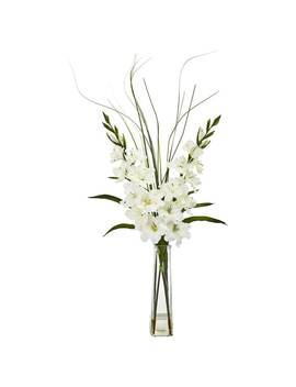 Gladiola Artificial Arrangement by Nearly Natural