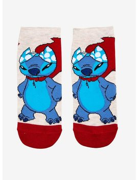 Disney Lilo &Amp; Stitch Stitch Cape No Show Socks by Hot Topic