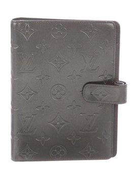 Louis Vuitton Monogram Mat Medium Ring Agenda Cover by Louis Vuitton