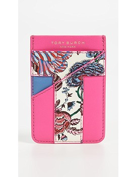 Floral Card Pocket Case by Tory Burch