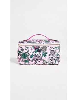 Tilda Printed Nylon Travel Cosmetic Case by Tory Burch