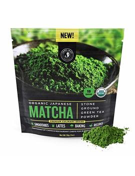 Jade Leaf Matcha Green Tea Powder   Usda Organic, Authentic Japanese Origin   Premium Culinary Grade (Smoothies, Lattes, Baking, Recipes)   Antioxidants, Energy [30g... by Jade Leaf Matcha
