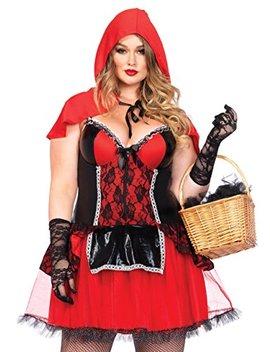 Leg Avenue Women's Plus Size Curvy Red Riding Hood by Leg+Avenue