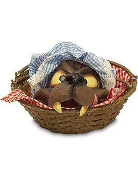 Wolf Head In A Basket by Rubie's