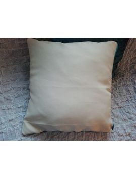 2 Gold And Cream Velvet Cushion Cover Size 16x16 by Ebay Seller