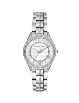 Mini Lauryn Pavé Watch, 33mm X 39mm by Michael Kors