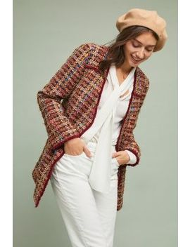 Harlequin Tweed Blazer by Ett:Twa