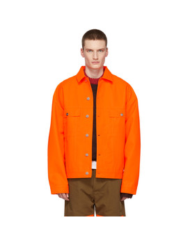 Orange Vertige Jacket by Études