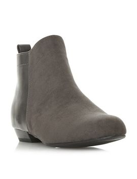 Head Over Heels By Dune   Grey 'perey' Ankle Boots by Head Over Heels By Dune