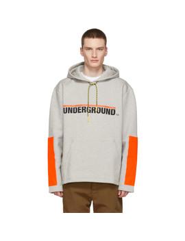 Grey Stream 'underground' Hoodie by Études